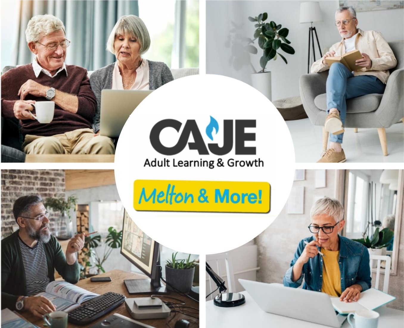 CAJE Adult Learning & Growth Goes Global