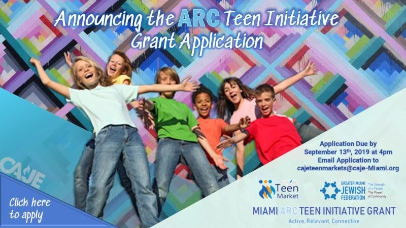 The Miami ARC Teen Initiative Grant Application