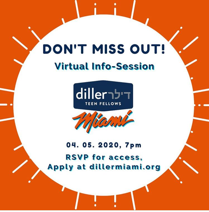 Diller Teen Fellows Virtual Information Session