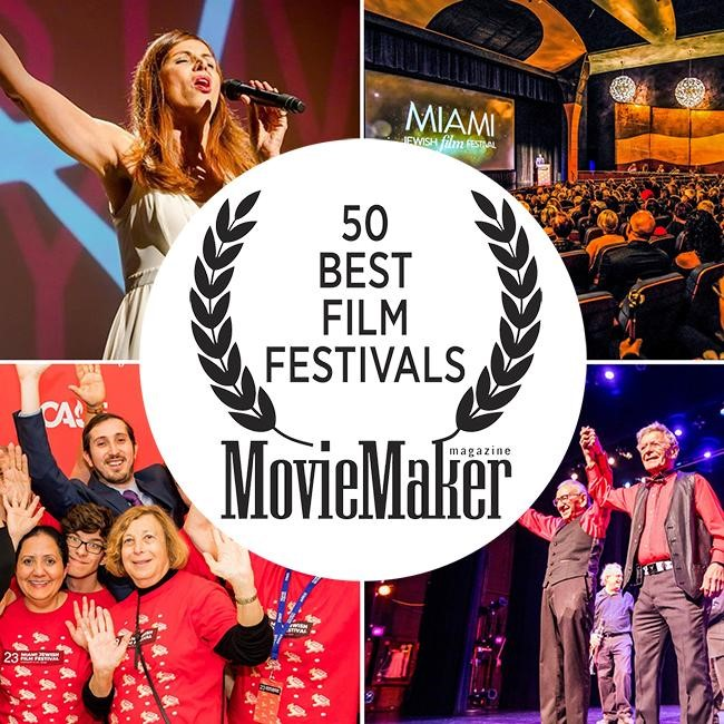 MIAMI JEWISH FILM FESTIVAL:  ONE OF THE 50 BEST FILM FESTIVALS  IN THE WORLD!